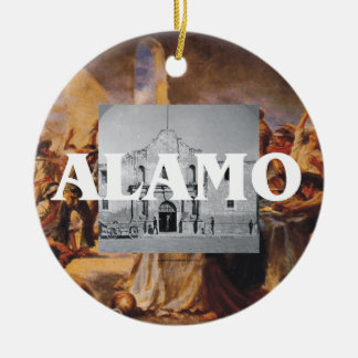 ABH Alamo Ceramic Ornament