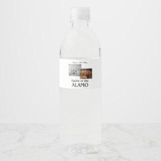 ABH Alamo Water Bottle Label