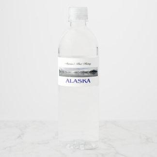 ABH Alaska Water Bottle Label