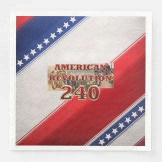 ABH American Revolution 240th Anniversary Disposable Napkins