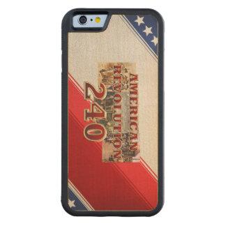 ABH American Revolution 240th Anniversary Maple iPhone 6 Bumper Case