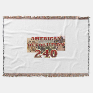 ABH American Revolution 240th Anniversary Throw Blanket