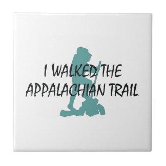 ABH Appalachian Trail Hiker Ceramic Tile