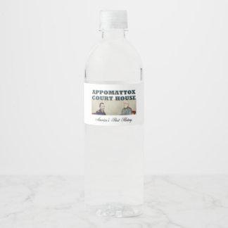 ABH Appomattox Water Bottle Label