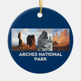 ABH Arches Ceramic Ornament