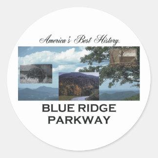ABH Blue Ridge Round Sticker