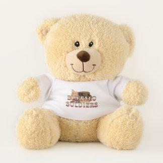 ABH Buffalo Soldiers Teddy Bear