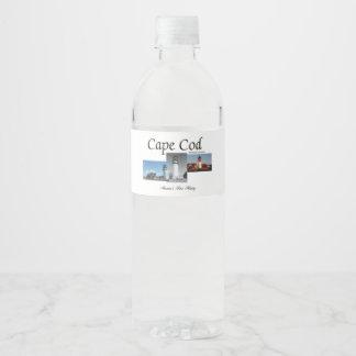 ABH Cape Cod Water Bottle Label