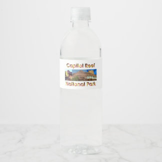 ABH Capitol Reef Water Bottle Label