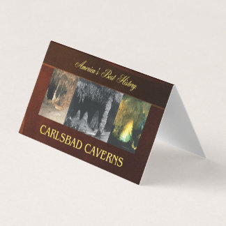 ABH Carlsbad Caverns Business Card
