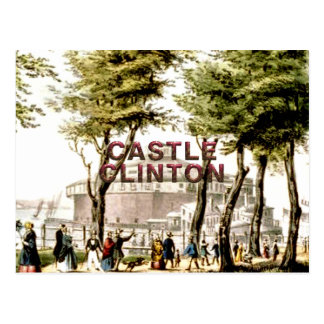 ABH Castle Clinton Postcard