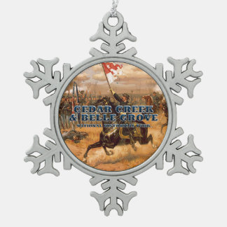 ABH Cedar Creek Pewter Snowflake Ornament