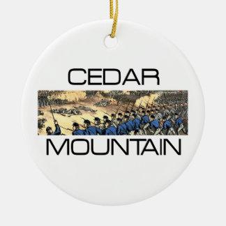 ABH Cedar Mountain 150 Round Ceramic Ornament