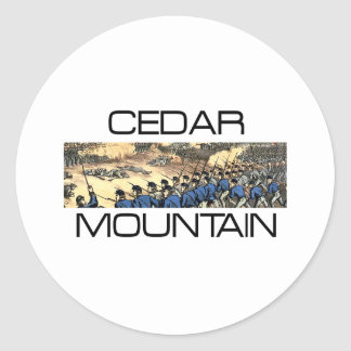 ABH Cedar Mountain Round Sticker