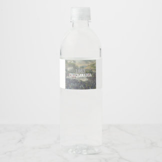 ABH Chickamauga Water Bottle Label