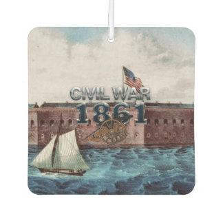 ABH Civil War 1861 Car Air Freshener