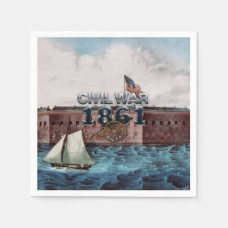 ABH Civil War 1861 Disposable Napkin