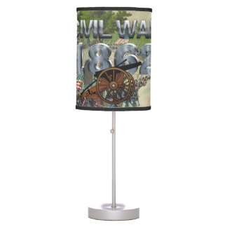 ABH Civil War 1862 Table Lamp