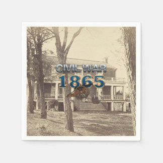 ABH Civil War 1865 Disposable Napkins