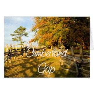 ABH Cumberland Gap Card