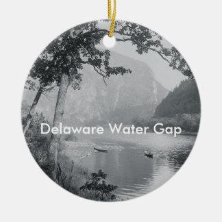 ABH Delaware Water Gap Ceramic Ornament