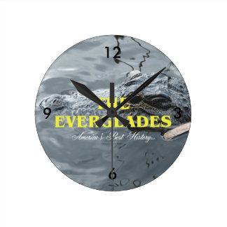 ABH Everglades Round Clock