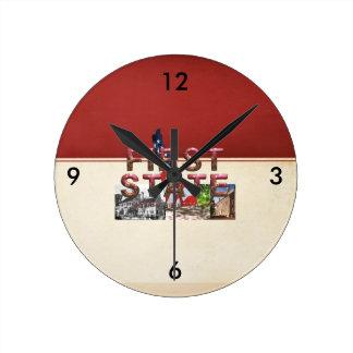 ABH First State Round Clock