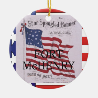 ABH Fort McHenry Ceramic Ornament