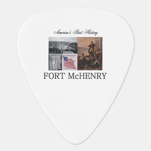 ABH Fort McHenry Guitar Pick