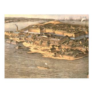 ABH Fort Monroe Postcard