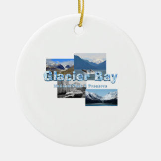 ABH Glacier Bay Ceramic Ornament