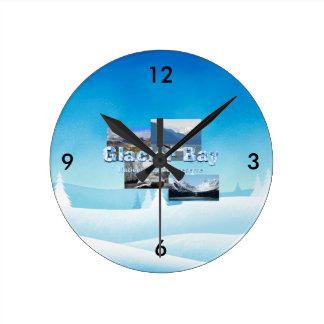 ABH Glacier Bay Round Clock