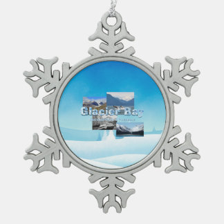 ABH Glacier Bay Snowflake Pewter Christmas Ornament