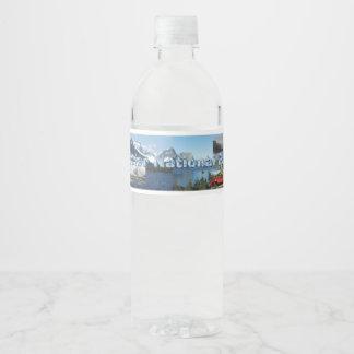 ABH Glacier NP Water Bottle Label