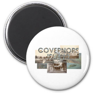 ABH Governors Island 2 Inch Round Magnet