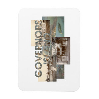 ABH Governors Island Rectangular Photo Magnet