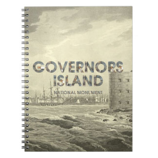 ABH Governors Island Spiral Notebook