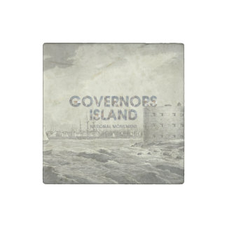 ABH Governors Island Stone Magnets
