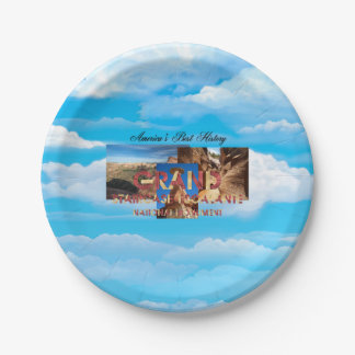 ABH Grand Staircase Paper Plate