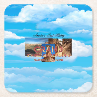 ABH Grand Staircase Square Paper Coaster