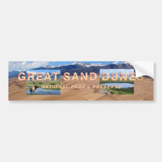 ABH Great Sand Dunes Bumper Sticker