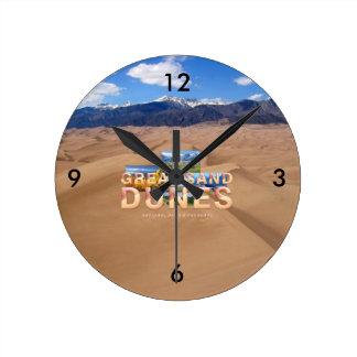 ABH Great Sand Dunes Wallclocks