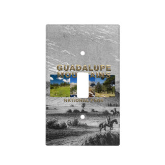 ABH Guadalupe Mountains Light Switch Cover