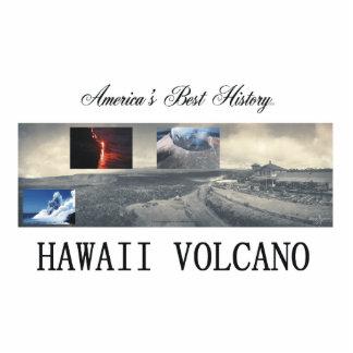 ABH Hawaii Volcano Standing Photo Sculpture