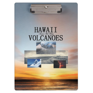ABH Hawaii Volcanoes Clipboard