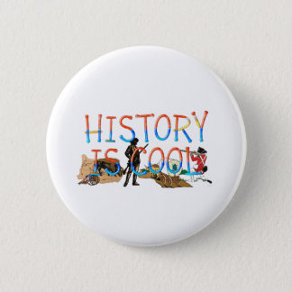 ABH History is Cool 2 Inch Round Button