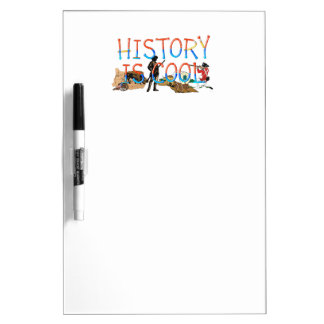 ABH History is Cool Dry Erase Board