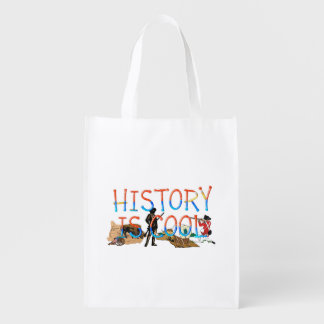 ABH History is Cool Reusable Grocery Bag