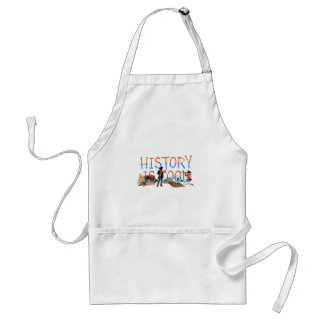 ABH History is Cool Standard Apron