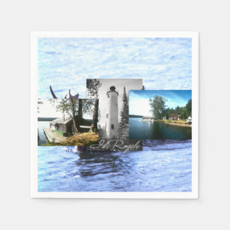 ABH Isle Royale Paper Napkins